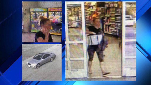 'Timesaver Trixie' wanted in Pulaski County for allegedly stealing at…