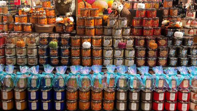 Fall candles are ALREADY at Bath & Body Works
