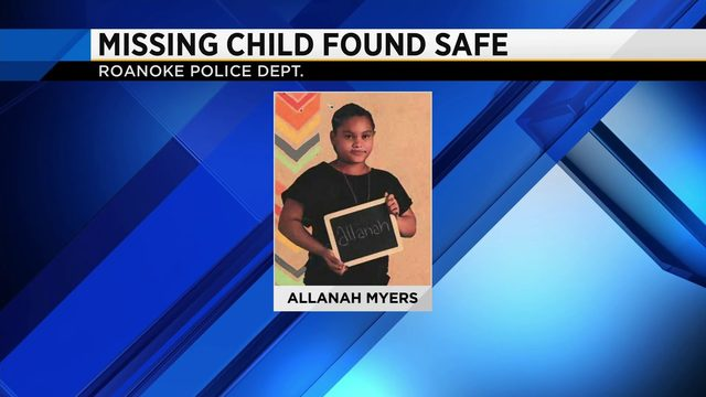 UPDATE: Allanah has been found safe and is back home, according to…