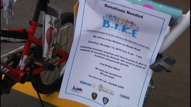 Lynchburg first responders, community members need donations for Project BIKE