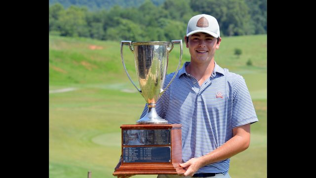 Jack Montague wins Virginia state open