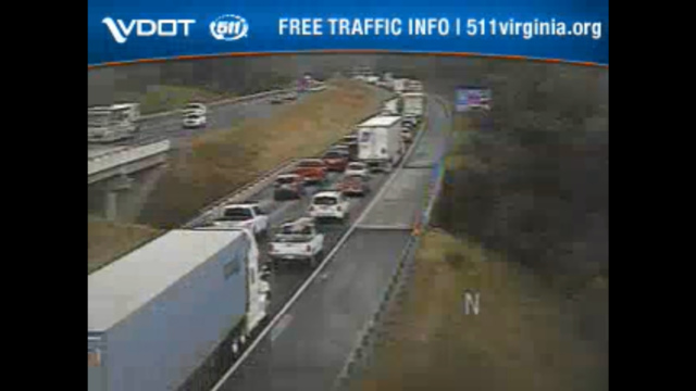 Expect delays in Interstate 81 north