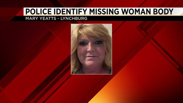 Lynchburg police identify body as previous missing woman