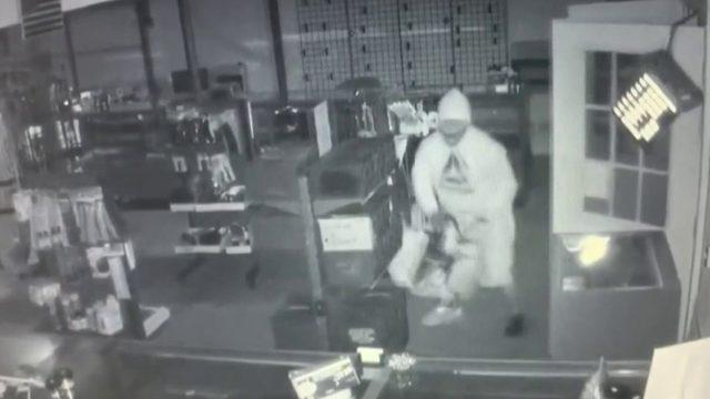Suspect in custody after Pittsylvania County gun store broken into for…