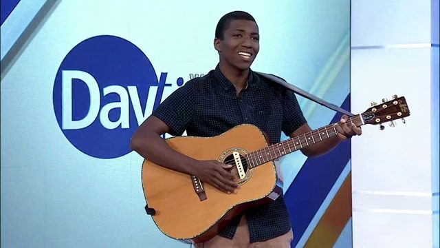 Rapper, singer and songwriter from Roanoke performs on Daytime Blue Ridge