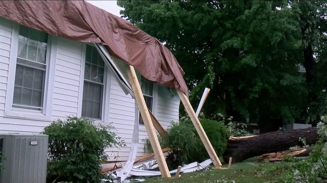 Storm cleanup continues at University of Lynchburg