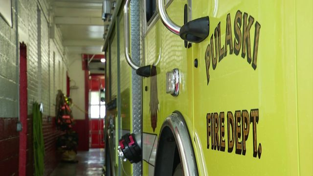 Pulaski fire chief continues fight for new truck he says could save lives