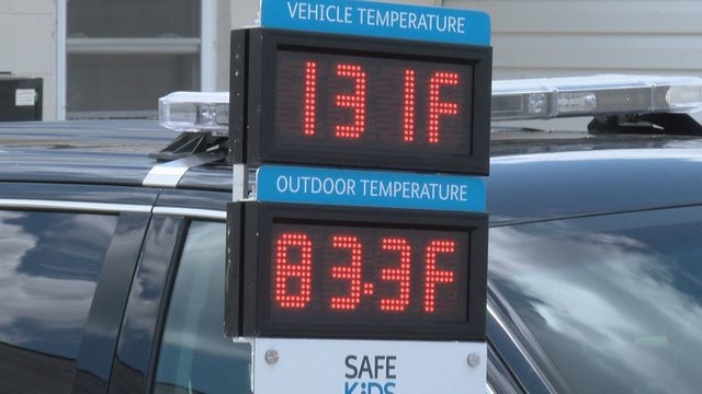 Danville police, humane society partner to raise awareness about hot car dangers