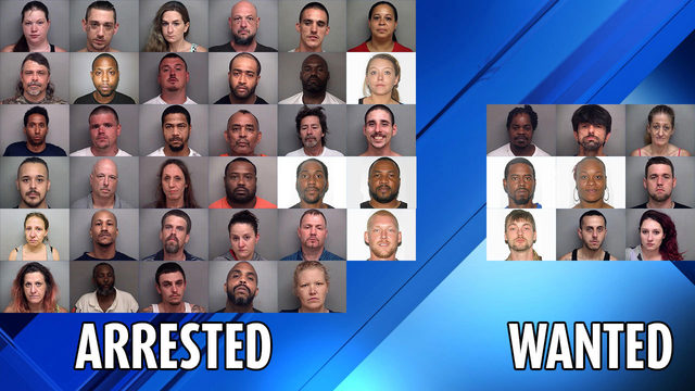 9 remain wanted after Henry County operation leads to drug seizures, 35 arrests