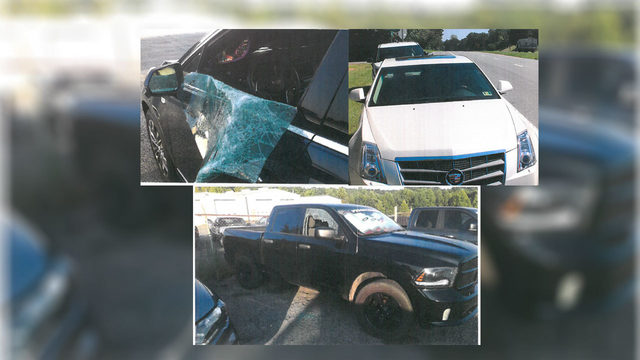 Two vehicles stolen, several others broken into in Campbell County