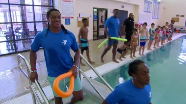 Edmunds brothers tackle water safety in national Danville YMCA video