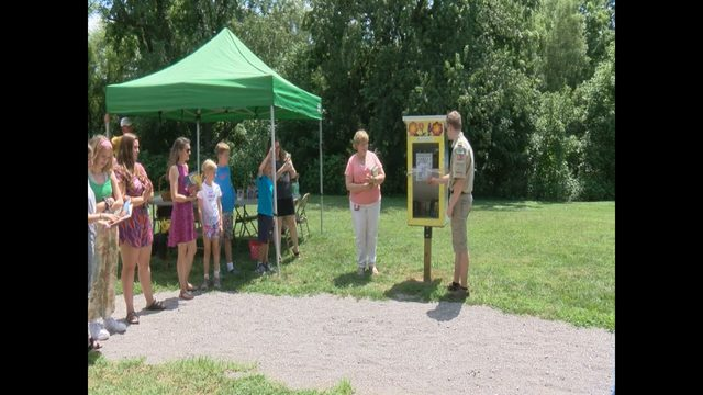 New 'Little Free Libraries' debut in Roanoke County