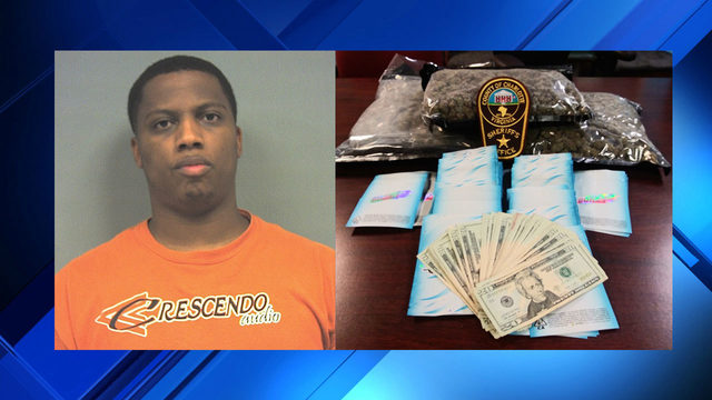 Man arrested in Charlotte County with 3 pounds of marijuana during traffic stop