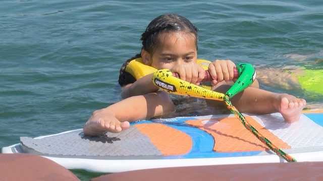 Wake the World brings fun in the sun to kids at Smith Mountain Lake