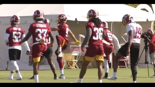 Former Hokies hope to make an impact in year two with Redskins
