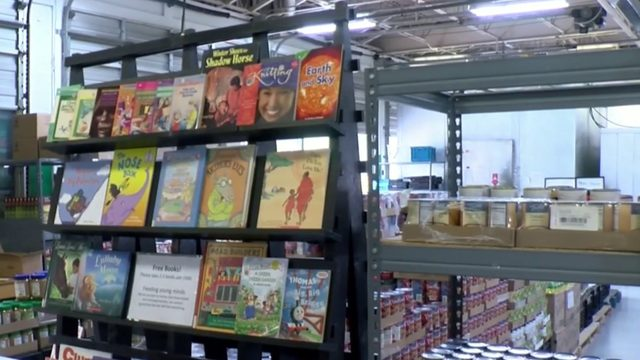 Not just canned goods, Rockbridge food pantry asking for children's books