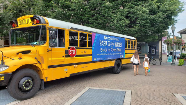 'Park it on the Market' aims to fill entire bus with school supplies for…
