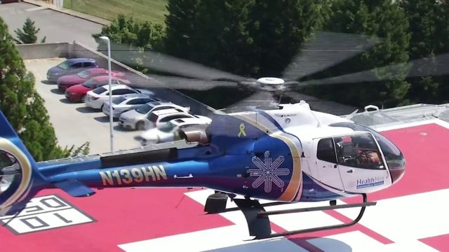LewisGale opens new rooftop helipad