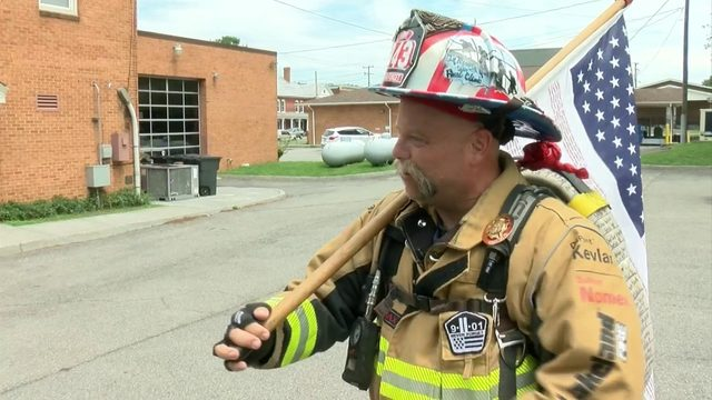 Buchanan firefighter plans walk to honor first responders who died on 9/11