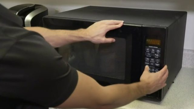 Reheating certain foods in the microwave