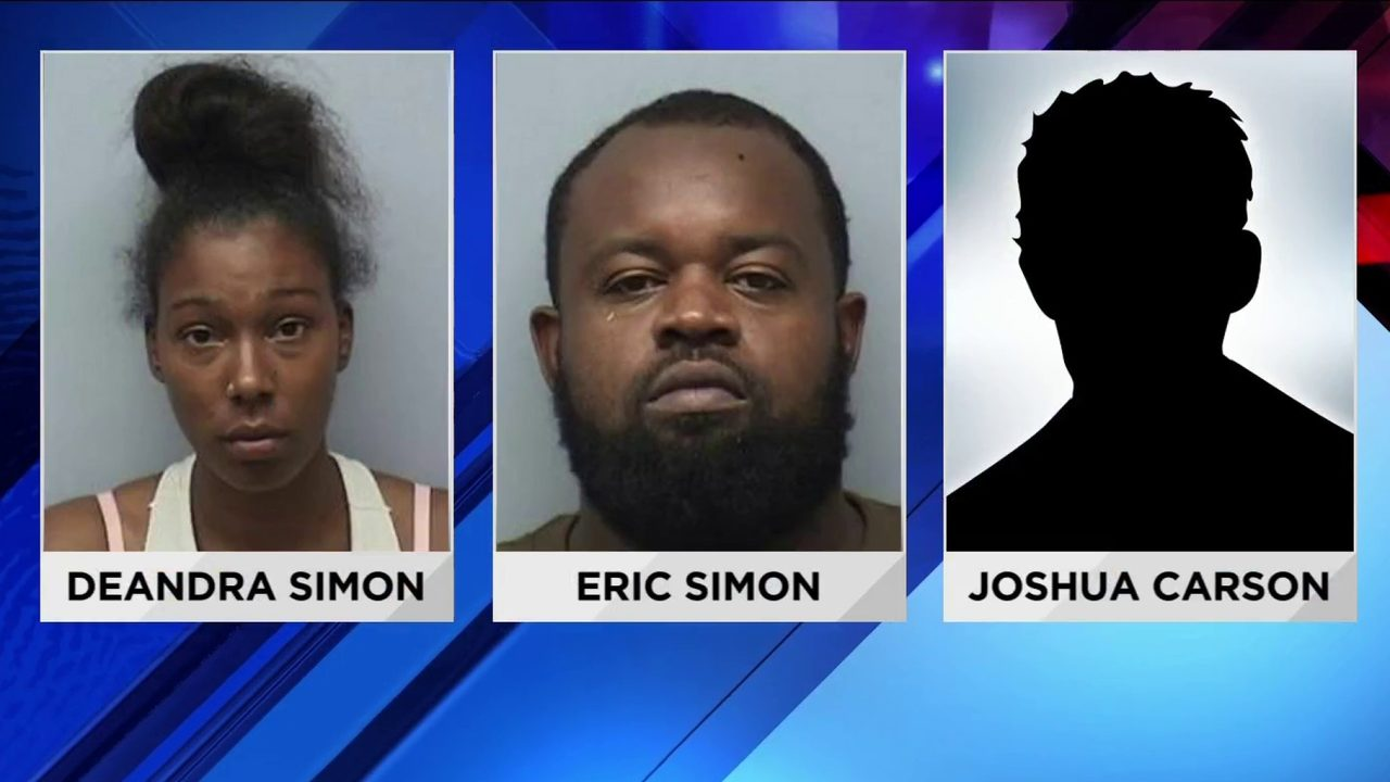 Three charged after shots fired into an occupied car in