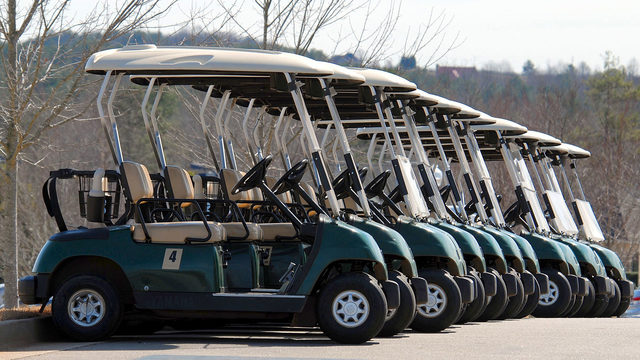 Golf cart theft at airport leads to drug treatment program