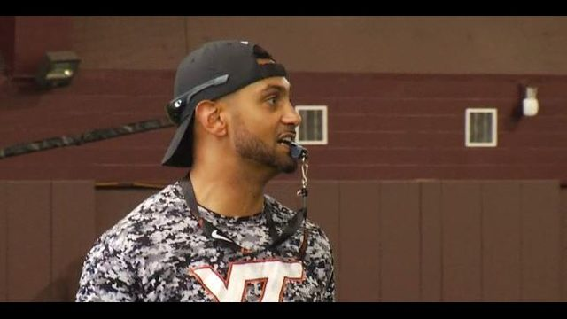 Justin Hamilton excited to share wealth of knowledge with Hokies on sidelines