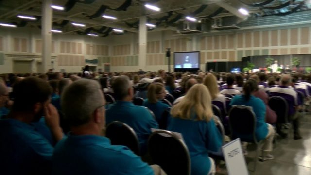 Roanoke City teachers, staff celebrate new school year