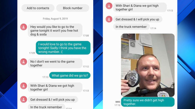 'We got high, girl': Person texts wrong number, gets Missouri police officer