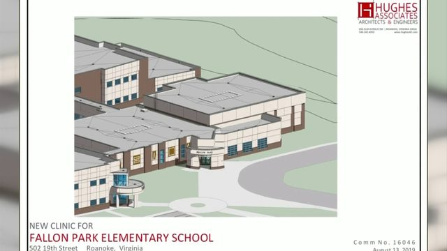 Roanoke City Schools launch partnership to bring community clinic to Fallon Park
