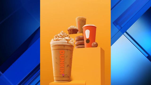 Fall coming soon to Dunkin' Donuts menu