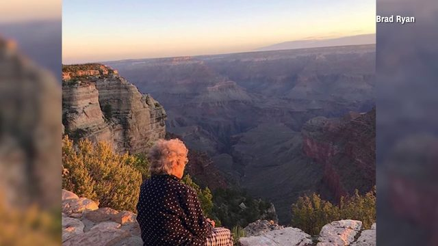 Grandson on a mission to take his grandma to every national park before…