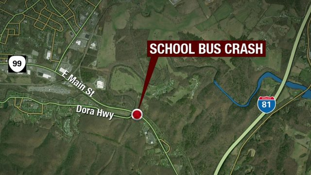 76-year-old woman charged in Pulaski school bus crash