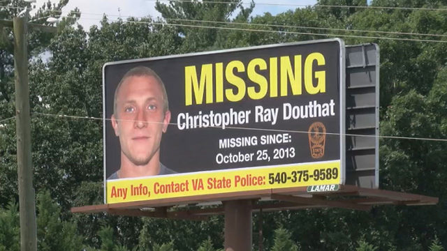 Billboards generate new leads in Christopher Douthat missing person case