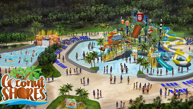 Kings Dominion announces kid-focused water park to open in 2020