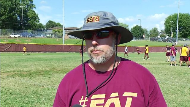 Web Extra: Brookville Head Coach Jon Meeks interview-1st and 10 Camp Tour
