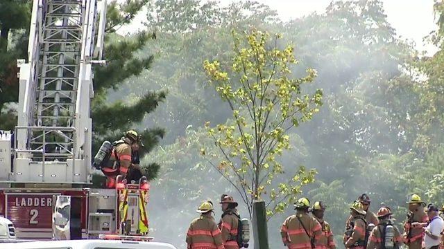 Crews battled rail car trash fire in Roanoke at Tinker Creek Transfer Station