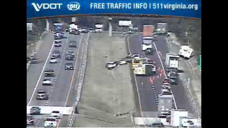 Interstate 81 crash leads to delays