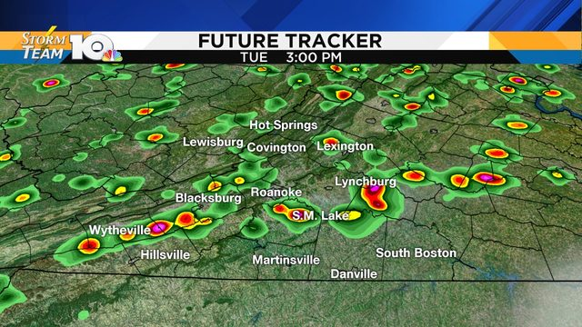 Few strong-to-severe storms possible Tuesday; heat wave crashes soon
