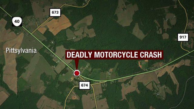 57-year-old motorcyclist dies in Pittsylvania County tractor-trailer crash