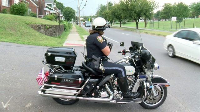 Roanoke police out in force as new school zone speed limits go into effect