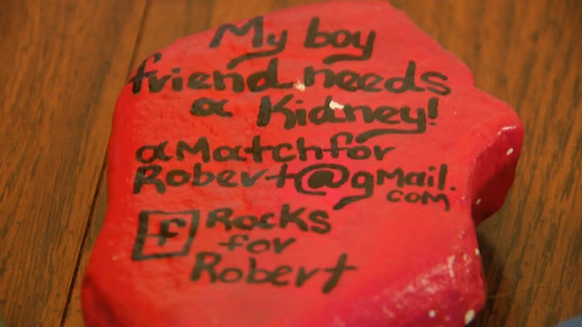 'Without a kidney I will not make it': Grayson County man using rocks to…