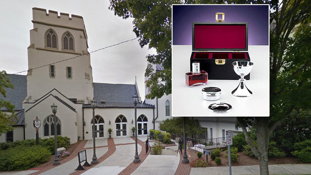 Communion items stolen from Lynchburg volunteer looking to help sick parishioner