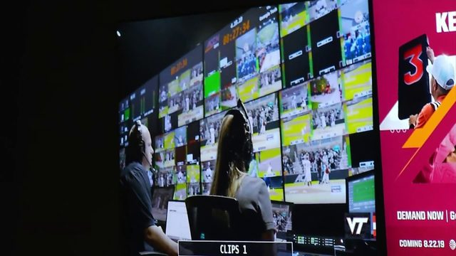 Virginia Tech's ACC Network studios are ready for launch