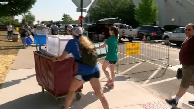 Virginia Tech's largest freshman class in history arrives on campus