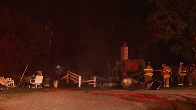 Fire destroys Pittsylvania County home