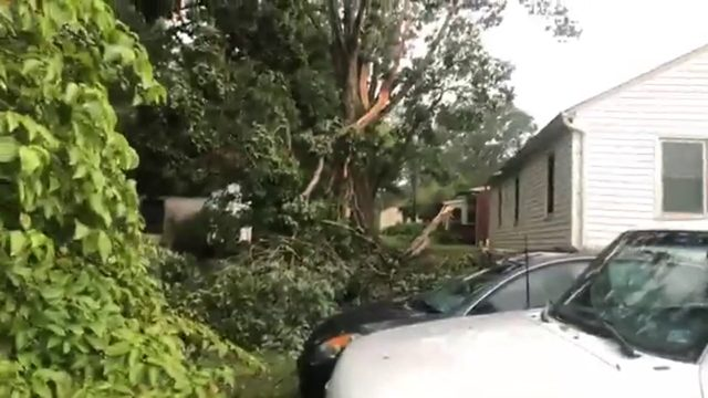 More than 1,000 left without power in Danville due to severe weather