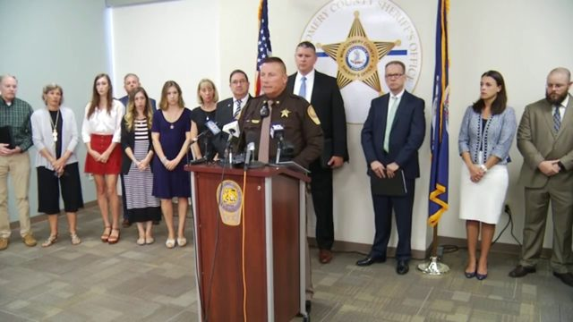 Law enforcement officials, family give update on Montgomery County double murder