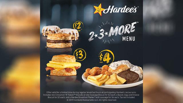 Enter Hardee's Touchdown Takeout