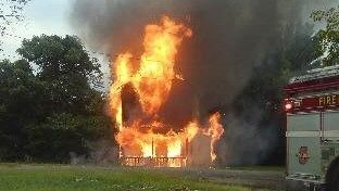 Person charged with arson after Danville house fire